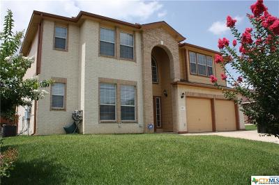 Harker Heights Single Family Home For Sale: 110 E Deer Horn Pass