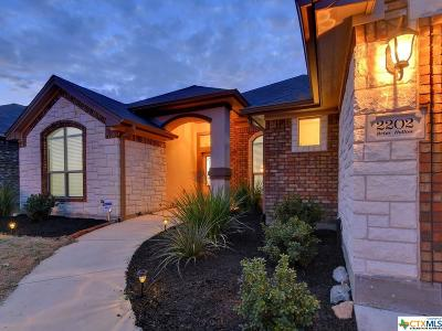 Temple Single Family Home For Sale: 2202 Briar Hollow Drive