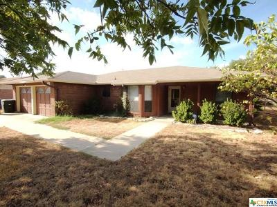 Copperas Cove Single Family Home For Sale: 2707 Phyllis Drive
