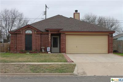 Killeen Single Family Home For Sale: 2405 Pixton