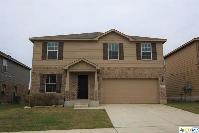 Killeen Single Family Home For Sale: 110 W Orion