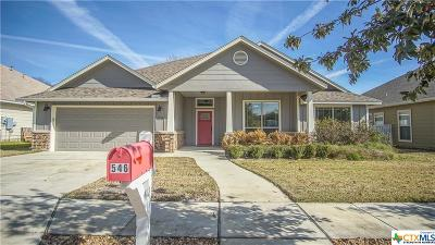 New Braunfels Single Family Home For Sale: 546 Melissa Lane