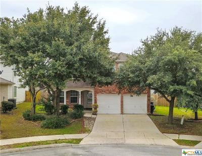 Schertz Single Family Home For Sale: 1604 Shady Brook