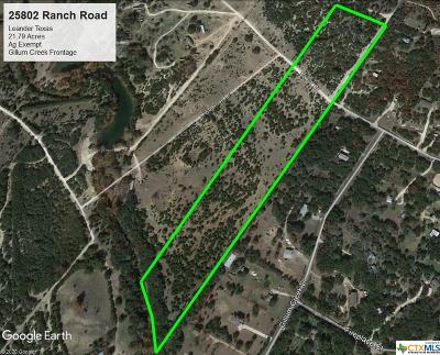 Leander TX Residential Lots & Land For Sale: $420,000