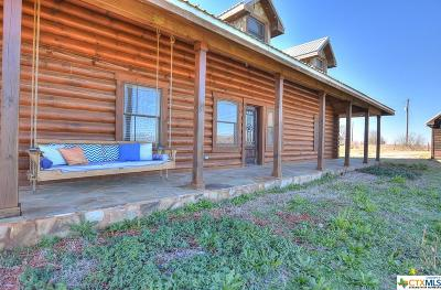 Bell County, Bosque County, Burnet County, Calhoun County, Coryell County, Lampasas County, Limestone County, Llano County, McLennan County, Milam County, Mills County, San Saba County, Williamson County, Hamilton County Single Family Home For Sale: 421 County Road 141