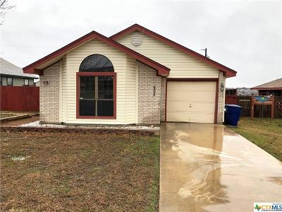 Copperas Cove Single Family Home For Sale: 605 Robertstown Road