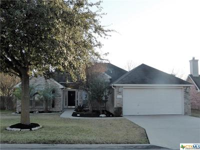 Temple Single Family Home For Sale: 2607 Meadow Wood Drive