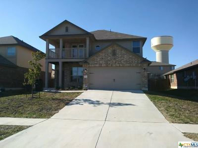 Killeen Single Family Home For Sale: 6601 Clear Brook