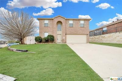 Harker Heights Single Family Home For Sale: 3052 Rain Dance Drive