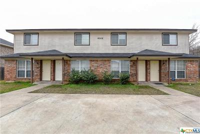 Killeen Multi Family Home For Sale: 4002 Madison Drive