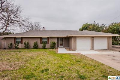 Temple, Belton Single Family Home For Sale: 2709 Michaels