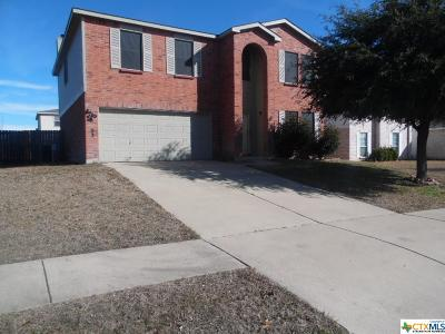 Killeen Single Family Home For Sale: 3603 Bull Run Drive