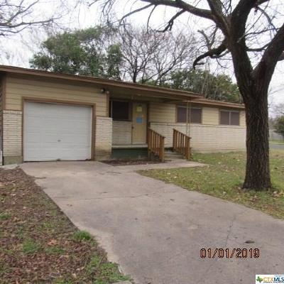 Copperas Cove Single Family Home For Sale: 1009 S 17th Street