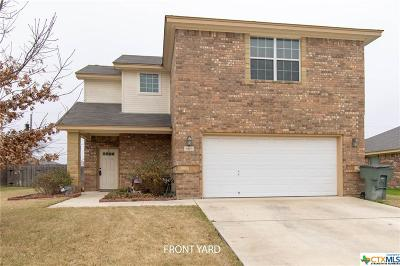 Killeen Single Family Home For Sale: 6513 Deorsam Loop