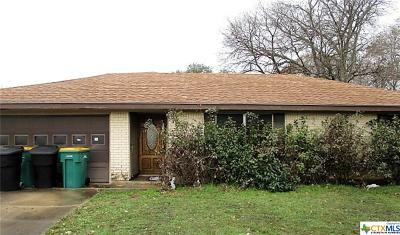 Temple Single Family Home For Sale: 4010 Mariam Road