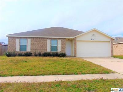Killeen Single Family Home For Sale: 3109 Viewcrest
