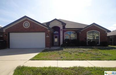 Killeen Single Family Home For Sale: 2806 Traditions