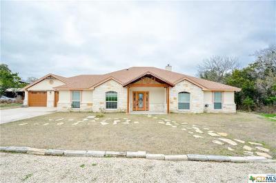 Temple, Belton Single Family Home For Sale: 5179 Denmans Mountain Road