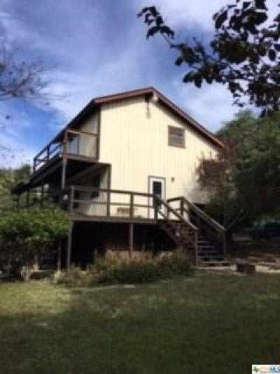 Canyon Lake Single Family Home For Sale: 1323 Twin Deer Ln