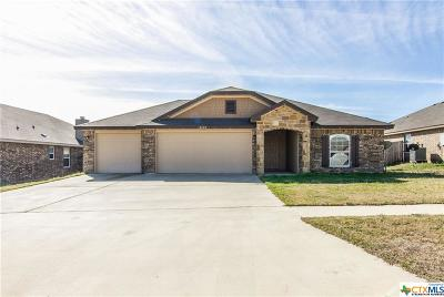 Killeen Single Family Home For Sale: 2606 Alamocitos Creek Drive