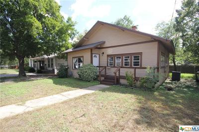 Belton TX Single Family Home For Sale: $129,900