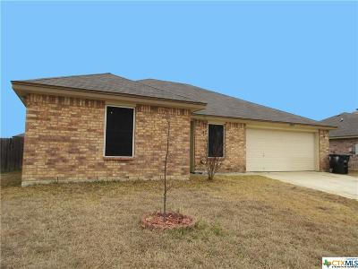 Killeen Single Family Home For Sale: 3810 Clementine