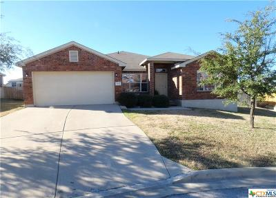 Harker Heights Single Family Home For Sale: 504 Etowah