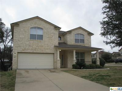 Killeen Single Family Home For Sale: 4900 Sodalite Ct