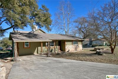 Canyon Lake Single Family Home For Sale: 102 W Outer Drive