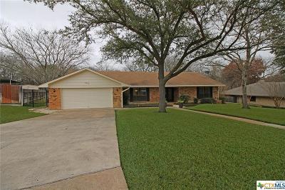 Temple Single Family Home For Sale: 3018 Arrowhead