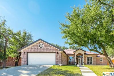 Killeen Single Family Home For Sale: 4905 Hammerstone Trail