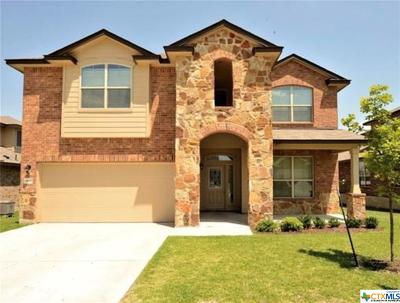 Killeen Single Family Home For Sale: 6806 George Cove