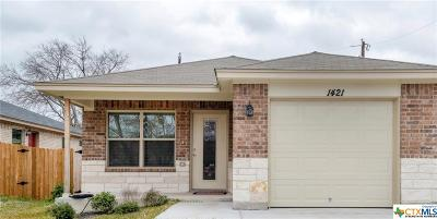 Harker Heights Single Family Home For Sale: 1421 Shoshoni Trail