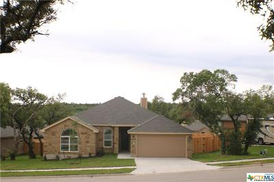 Copperas Cove Single Family Home For Sale: 1030 Republic Circle