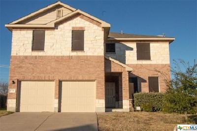 Killeen Single Family Home For Sale: 501 E Little Dipper