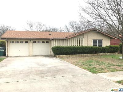 Killeen Single Family Home For Sale: 2310 Daisy Drive