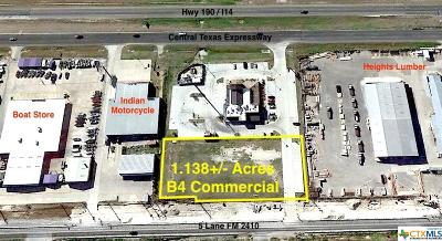 Harker Heights Commercial For Sale: 500 W Fm 2410
