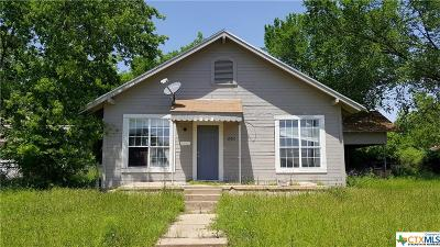 Gatesville Single Family Home For Sale: 1205 Pidcoke Street