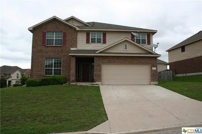 Harker Heights Single Family Home For Sale: 801 Halona
