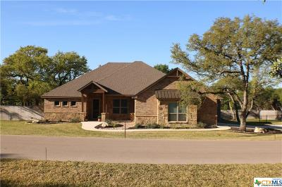 Belton Single Family Home For Sale: 21 Riverstone Parkway