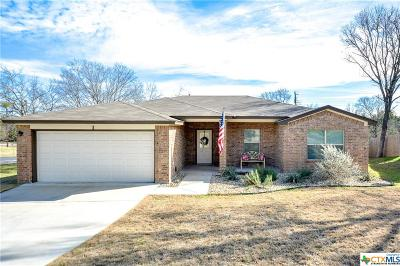 Belton Single Family Home For Sale: 1 Oakmont