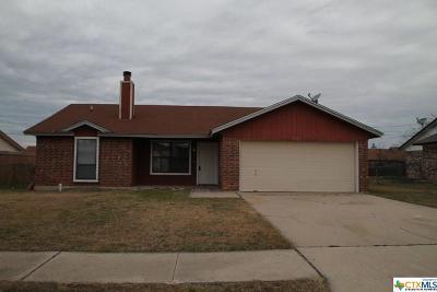 Killeen Single Family Home For Sale: 2121 Schwertner