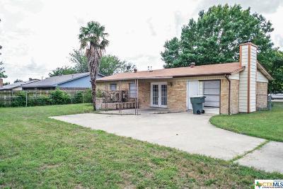 Killeen Single Family Home For Sale: 1504 Richard Drive