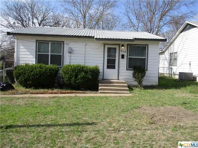 Temple, Belton Single Family Home For Sale: 914 S 39th