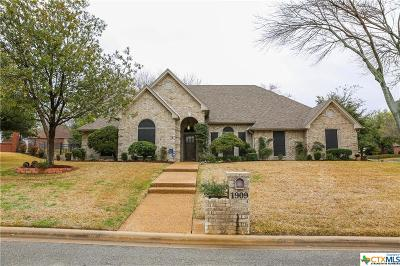 Harker Heights Single Family Home For Sale: 1909 Wolverine Trail