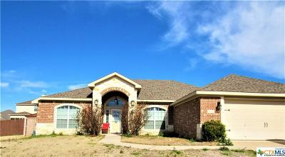 Killeen Single Family Home For Sale: 5619 Turquoise