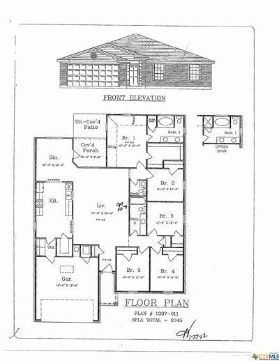 Killeen Single Family Home For Sale: 6903 Oliver Loving Drive