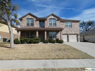Killeen Single Family Home For Sale: 4814 Birmingham