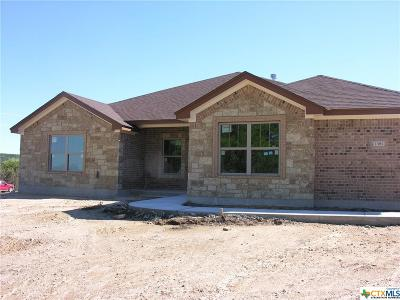 Copperas Cove Single Family Home For Sale: 1381 Duncan Road