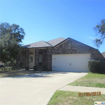 Killeen Single Family Home For Sale: 5609 Southern Belle Drive